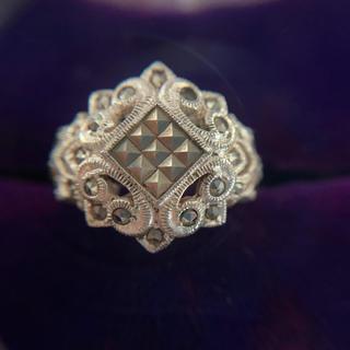 レディース  シルバー  リング  指輪  銀  白  ホワイト(リング(指輪))