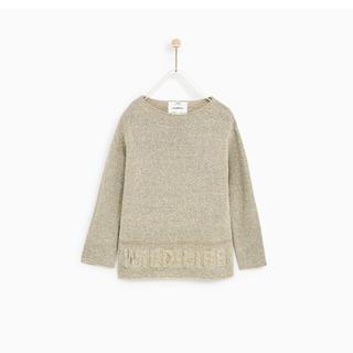 ザラキッズ(ZARA KIDS)の【タグ付き・未使用】Zara(122cm)セーター(ニット)