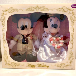 ディズニー(Disney)のウエルカムドール ウエディングドール・ミッキーミニー・結婚式・祝電・ディズニー(ぬいぐるみ)