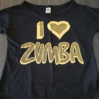 ズンバ(Zumba)のzumbaウエアトップスSサイズ(ダンス/バレエ)
