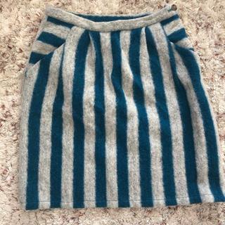フィグロンドン(fig London)のfig london ウールスカート(ひざ丈スカート)