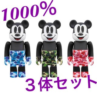 BE@RBRICK BAPE® MICKEY MOUSE  1000%(その他)