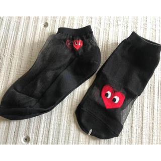 COMME des GARCONS - 新品☆韓国靴下☆二足セット☆送料込み☆人気商品