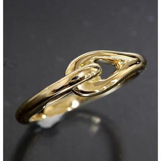 ティファニー(Tiffany & Co.)のティファニー TIFFANY&CO.デザイン リング 10号 K18YG(リング(指輪))