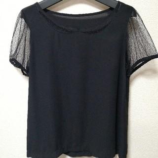 レトロガール(RETRO GIRL)のレース襟ブラウス(シャツ/ブラウス(半袖/袖なし))