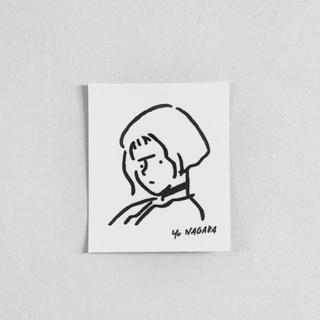 ビームス(BEAMS)の長場雄 yu nagaba Girl ステッカー(シール)