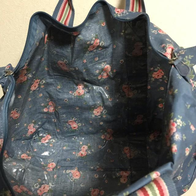 Cath Kidston(キャスキッドソン)のキャスキッドソン トート ボストンバッグ ポーチ付 旅行かばん鞄 レディースのバッグ(ボストンバッグ)の商品写真