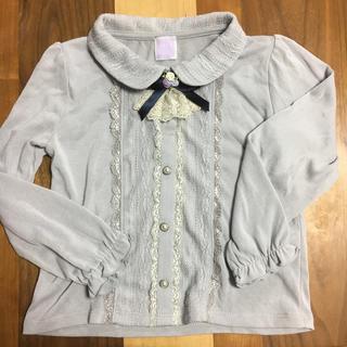 アクシーズファム(axes femme)のaxes femme kids ブラウス 120サイズ(Tシャツ/カットソー)