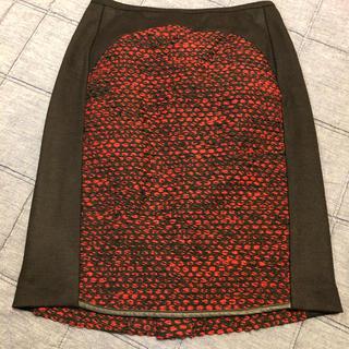 ドゥーズィエムクラス(DEUXIEME CLASSE)のDUL DE VERRE(ダルデベール)スカート(ひざ丈スカート)