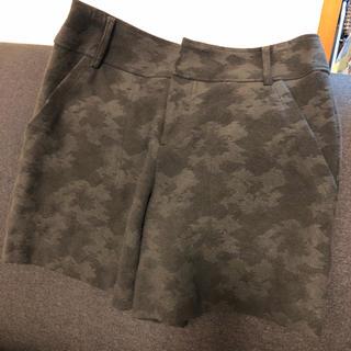 ルカ(LUCA)のカモフラージュ woolショートパンツ(ショートパンツ)