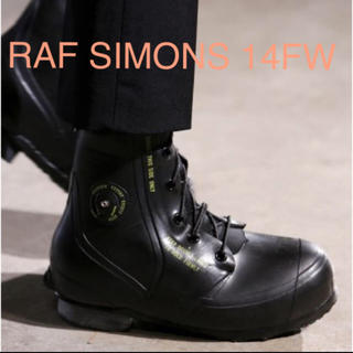 raf simons 14FW mickey mouse boots 27cm
