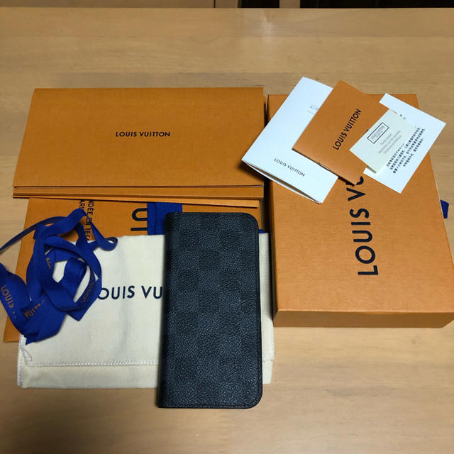 LOUIS VUITTON - LOUIS VUITTON IPHONE X & XS・フォリオの通販 by シンサン's shop|ルイヴィトンならラクマ