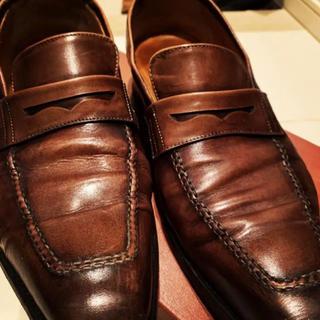 バーウィック ローファー 3274 ダークブラウン(ローファー/革靴)