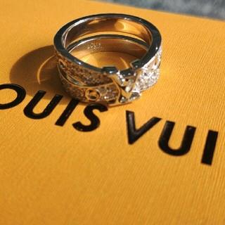 ルイヴィトン(LOUIS VUITTON)のセール中 超美品 Louis Vuitton リング 男女兼用(リング(指輪))