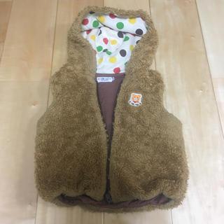 ホットビスケッツ(HOT BISCUITS)のHOT BISCUITS♡袖なしボアアウター(ジャケット/上着)