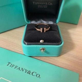 ティファニー(Tiffany & Co.)のTiffany & Co. ファニー(正規品) T字リング(リング(指輪))