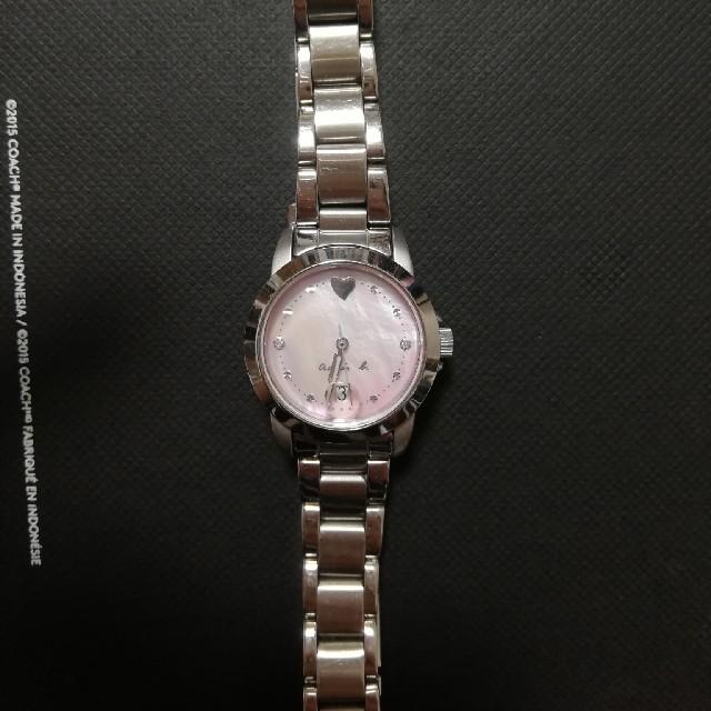 agnes b.(アニエスベー)の腕時計  アニエスベー  レディース  シルバー  レディースのファッション小物(腕時計)の商品写真