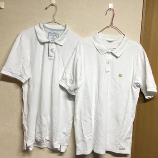 ユニクロ(UNIQLO)の★早い者勝ちSALE!★ホワイト ポロシャツ2枚セット (ポロシャツ)