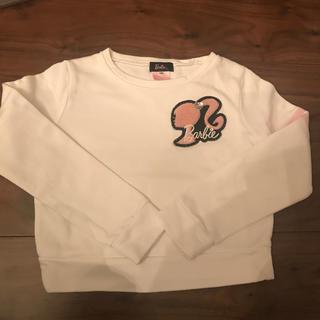 バービー(Barbie)のBarbie 女児トレーナー130(Tシャツ/カットソー)
