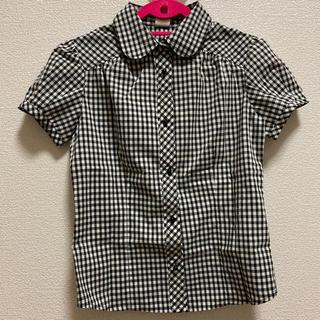 レトロガール(RETRO GIRL)のレトロガール ギンガムチェックシャツ(シャツ/ブラウス(半袖/袖なし))