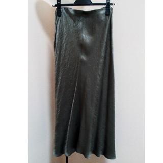 プラージュ(Plage)のプラージュのサテンスカート(ロングスカート)