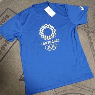 アシックス(asics)の東京2020オリンピック Tシャツ 2XL (ネイビー)(その他)
