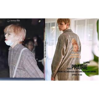 ボウダンショウネンダン(防弾少年団(BTS))のBTS taehyung V キムテヒョン 着用 PRAIRIE shirts(シャツ)