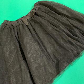 BREEZE スカート 黒 120