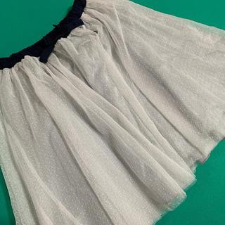 BREEZE スカート 白 130