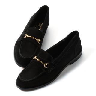ドゥーズィエムクラス(DEUXIEME CLASSE)のDeuxieme Classe☆新品 BELLINI スエードローファー 36(ローファー/革靴)