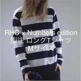 ロンハーマン(Ron Herman)のRHC × Numbers edition 別注 Tシャツ(Tシャツ/カットソー(七分/長袖))