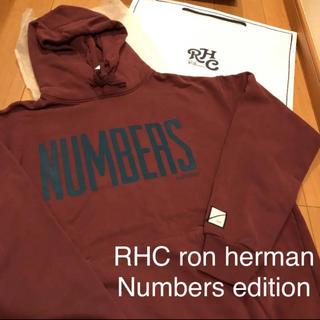 ロンハーマン(Ron Herman)のサイズL RHC みなとみらい購入  Numbers edition パーカー (パーカー)