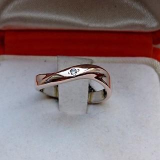 ヴァンドームアオヤマ(Vendome Aoyama)のヴァンドームアオヤマ ピンクシルバー ダイヤモンド リング(リング(指輪))