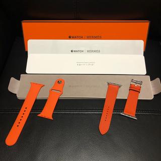 エルメス(Hermes)のApple Watch HERMES series5 44mm バンドのみ2点 (その他)
