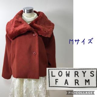 ローリーズファーム(LOWRYS FARM)の女性 M《LOWRYS FARM》(レッド)ショートコート(その他)