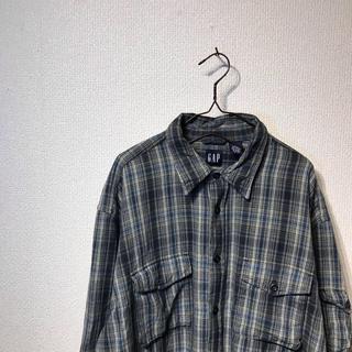 GAP - オールドギャップ ネルシャツ 90's ヴィンテージ古着