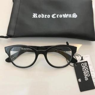 ロデオクラウンズ(RODEO CROWNS)の新品 RODEO CROWNS 伊達メガネ(サングラス/メガネ)