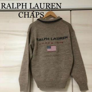 CHAPS - RALPH LAUREN CHAPS ラルフローレン ハーフジップニットセーター