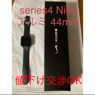 アップル(Apple)のApple watch series4 44mm Nike GPSモデル(腕時計(デジタル))