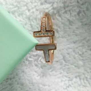 ティファニー(Tiffany & Co.)のお勧めリング Tiffany &Co. レディース 指輪 箱付き ファッション(リング(指輪))