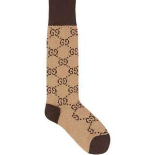 グッチ(Gucci)のp様専用 GUCCI  ファブリックGGソックス(靴下/タイツ)