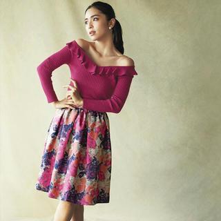 And Couture - フラワージャガードスカート♡