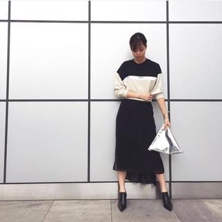 アメリヴィンテージ(Ameri VINTAGE)のしーさん専用★AMERI LOGO FASTENER SWEAT DRESS(ロングワンピース/マキシワンピース)