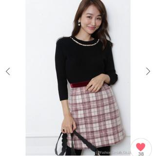 Rirandture - リラ♡シャギーチェックフレアスカート