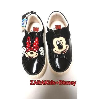 ザラキッズ(ZARA KIDS)のZARAKids+Disneyスニーカー サイズ31(EU)(スニーカー)