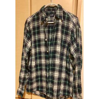 ギャップ(GAP)の90's GAP オールドギャップ リネンシャツ(シャツ)