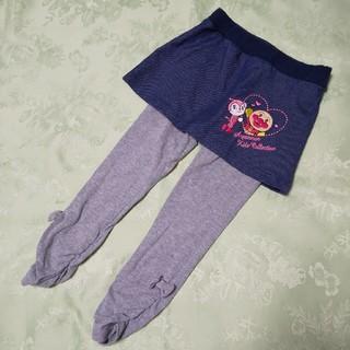 アンパンマンキッズコレクション デニムスカート付きスパッツ 100(パンツ/スパッツ)