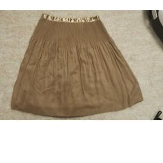 ミッシェルクラン(MICHEL KLEIN)のレディース  フレアースカート(ひざ丈スカート)