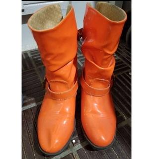 レインブーツ オレンジ(レインブーツ/長靴)