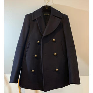 BALMAIN - 【ベッカム着用モデル】H&M、BALMAINコラボのPコート